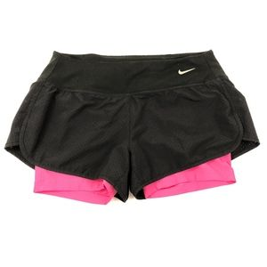 Nike Dry-Fit Women's 2in1 Running Short Size Small